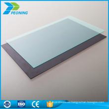 Nueva promoción del estilo personalizó el precio de techo plano plástico de la hoja del policarbonato del lexan de 4m m