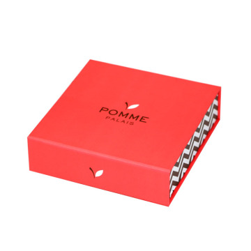 Pink Book Shape Packaging Box