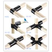 Black Coating Metal Joints Connector HJ Series