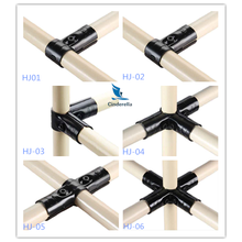 Black Coating Metal Joints Connector HJ Series