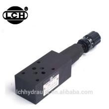 Yuken Cetop 2 modular throttle modular check valve