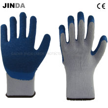 Latex Coated Crinkle Finish Industrial Labor Protective Safety Gloves (LS507)