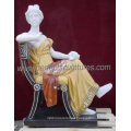 Italian Stone Carving Statue Garden Carved Marble Sculpture for Hotel Decoration (SY-C1302)