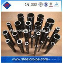 Buena tubería de acero de precisión de precisión pequeña fabricada en China