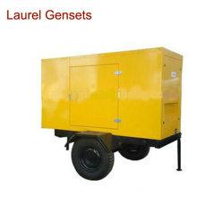 Générateur mobile / remorque 22kw pour machines électriques extérieures