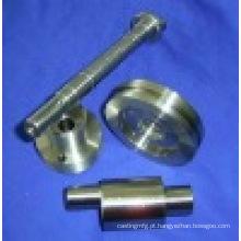 Precisão Anodizado Alumínio 6061 CNC Torno Rosqueamento Virando Parte
