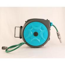 Enrouleur de tuyau d'eau rétractable portable fixé au mur