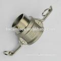 Raccords de Camlock d'acier inoxydable 316/304, fabrication de Fuzhou Chine