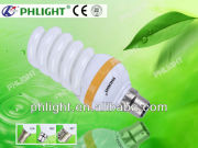 China Factory 110V Daylight Full Spiral Compact Fluorescnt Lamp