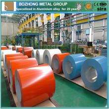 Bobine en aluminium revêtue de couleur chaude 7020