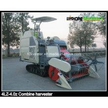 Cosechadora de arroz autopropulsada con engranaje de conducción