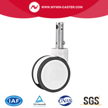 Central Lock Stem TPR Medical Caster