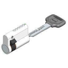 Cerradura telescópica del cilindro del perno de medio lado