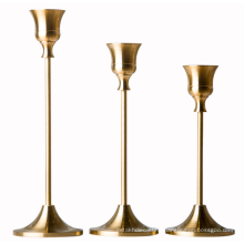 Christmas Decoration Dinner Part Part Candle Holder Gold Fast Delivery on Sale