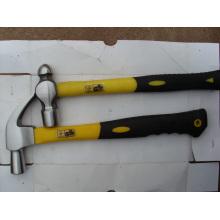 Tipo americano martillo de garra pulido con mango de fibra