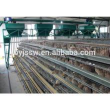 Jaula de codorniz usada malla de alambre de metal para las ventas
