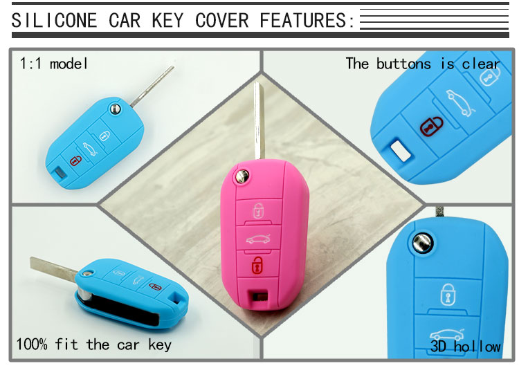 Peugeot Remote Key Cover