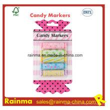 Mini resaltador de caramelo para niños