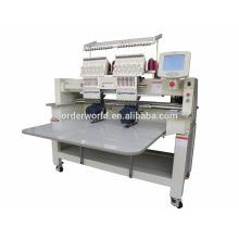 Máquina de bordar / máquina de bordar 2 cabeça / chapéu máquina de bordar
