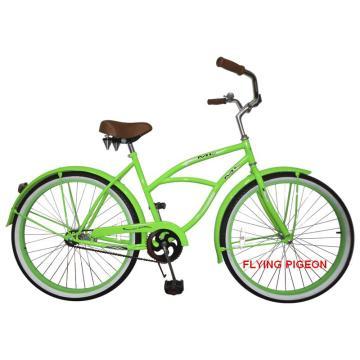 Bicicletas del crucero de la playa del hombre verde de la manera (FP-BCB-C018)