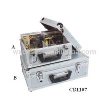 discos de CD de alta calidad 30 y 45 (10mm) aluminio CD caja ventas por mayor