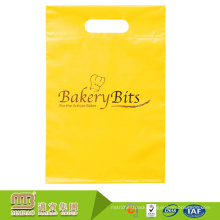 Deluxe brand custom logo printing ldpe biodegradable hdpe colored plastic bread bags printed
