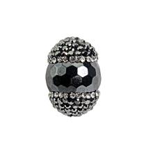 Venta caliente piedras preciosas granos de piedra para la joyería pulsera collar