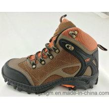 Zapatillas de escalada de los hombres de la buena calidad que van de excursión los zapatos