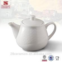théière en émail en gros, pot de thé en céramique pour le banquet