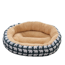 2021 eco-friendly in stock warm soft dog beds