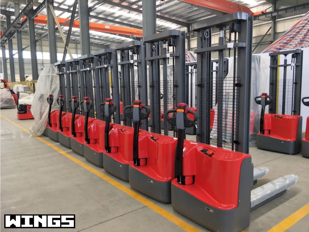 ELECTRIC STACKER WITHOUT PAdal