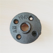 2/1'',3/4'' Black Malleable Iron Floor Flange