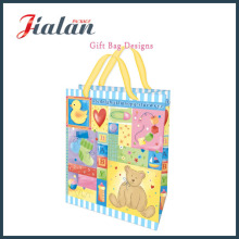 4c Print Colorful Baby Design Shopping Bag