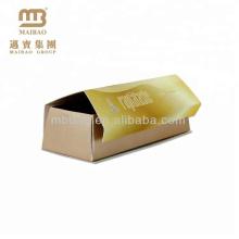 Élégant style logo personnalisé imprimer cadeau boîte de papier emballage pour cookie