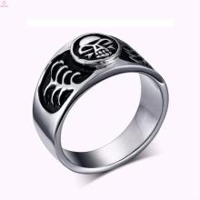 2017 barato de aço inoxidável do vintage jóias anel de caveira de prata