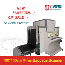 100*100cm Large Tunnel Checked Baggage & Luaagage and Cargo X-ray Scanner