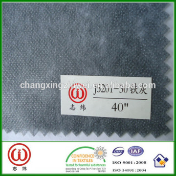Soft medium weight non-woven fusible interlinings silicone interlining fabric