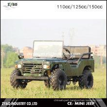 Specialized Automatic 150cc USA Army Mini Jeep