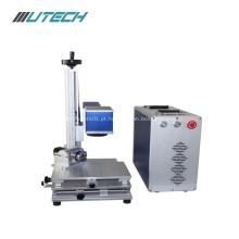 Máquina de marcação a laser de fibra de caneta óptica de alta precisão