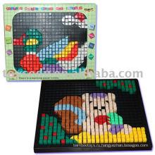 Пластиковые раздвижные головоломки, 3D-головоломка, Diy Puzzle