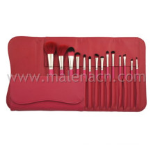 High-End Quality 14PCS Wooden Handle Artist Brush Set