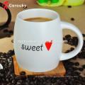 Attraktives Design FDA BSCI genehmigte keramische Kaffeetasse