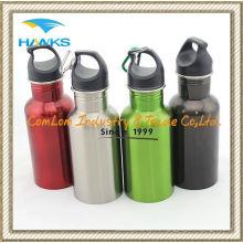 Botella de agua de acero inoxidable de 750ml