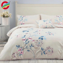 embroidery pintuck cotton duvet/quilt cover set