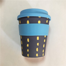 ECO wiederverwendbare Bambusfaser zum Mitnehmen Kaffeetassen