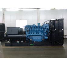 Дизельный генератор открытого типа мощностью 2000 кВА Mtu