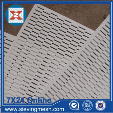 Mesh Logam Perforated Aluminium