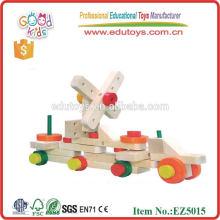 Brinquedo de madeira 2015, brinquedo de madeira de venda quente, carro de madeira inteligente para crianças