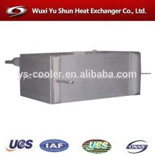 custom aluminum plate fin condensator evaporator