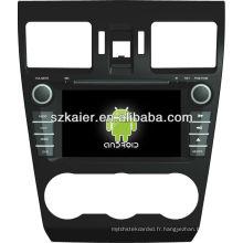 Lecteur DVD de voiture pour Android système Subaru Forester